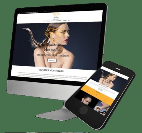 Theme WordPress-Woocommerce – Free Divi Layout -Gratuit – Template Bijouterie
