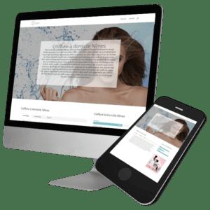 Theme WordPress-Woocommerce – Free Divi Layout -Gratuit – Coiffure domicile Nîmes