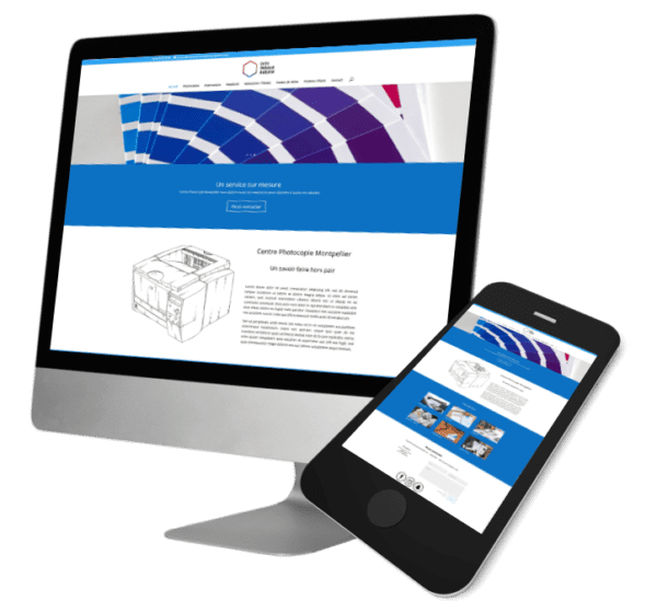 Theme WordPress-Woocommerce – Free Divi Layout -Gratuit – Template Centre photocopie