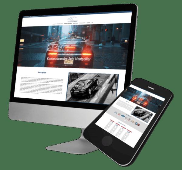 Theme WordPress-Woocommerce – Free Divi Layout -Gratuit – Template Concessionnaire auto