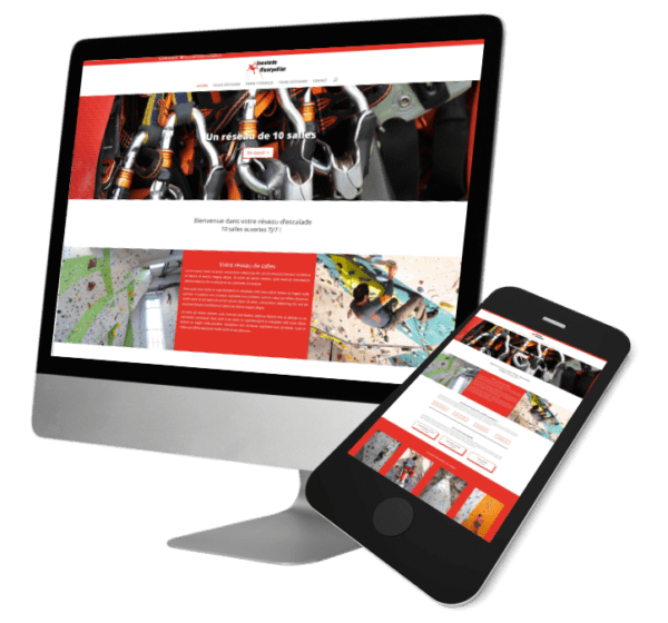 Theme WordPress-Woocommerce – Free Divi Layout -Gratuit – Template Escalade
