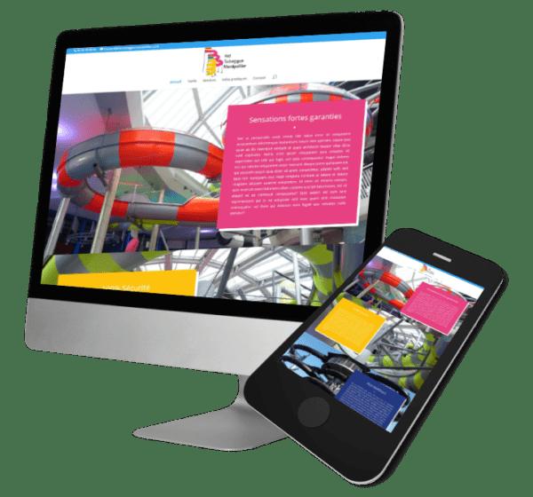 Theme WordPress-Woocommerce – Free Divi Layout -Gratuit – Template Concessionnaire Kid toboggan