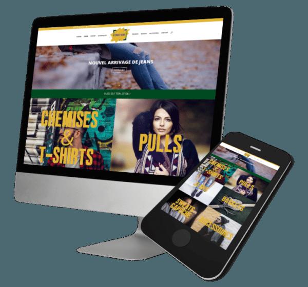 Theme WordPress-Woocommerce – Free Divi Layout -Gratuit – Template Street Wear