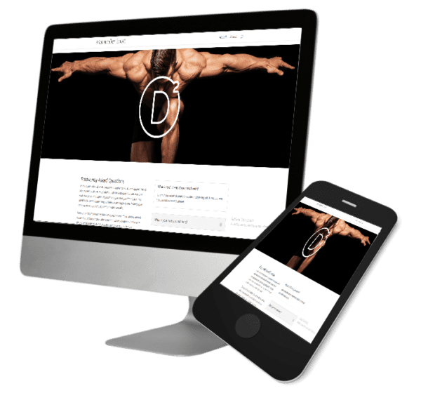 Theme WordPress-Woocommerce – Free Divi Layout -Gratuit – Montpellier sport