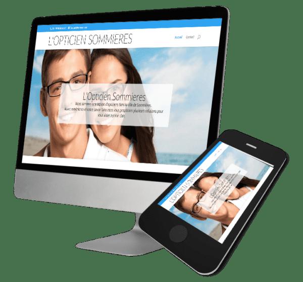 Theme WordPress-Woocommerce – Free Divi Layout -Gratuit – Opticien Sommières