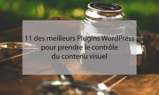 Les 11 meilleurs Plugins WordPress pour prendre le contrôle du contenu visuel
