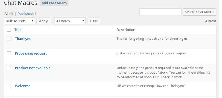 On a testé Yith live chat plugin pour WordPress
