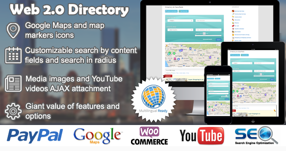 On a testé web 2.0 Directory plugin pour WordPress