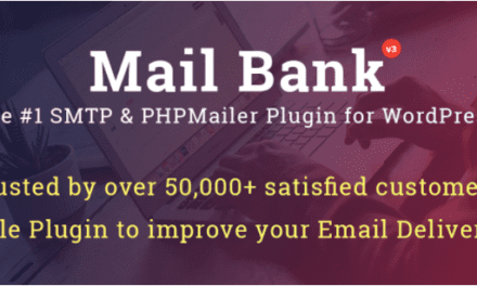 On a testé Mail bank un plug-in WordPress envoyer ses mails via SMTP
