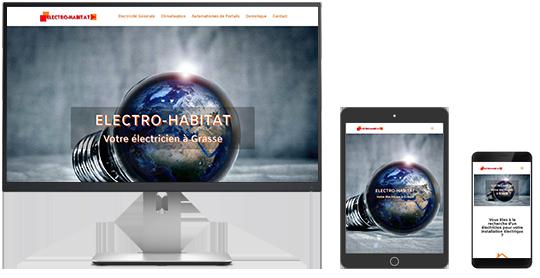 Site web ELECTRO - HABITAT