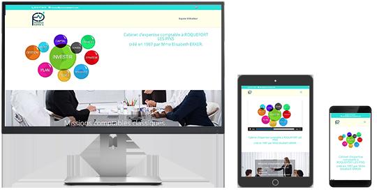 Site web PRÉSENCE EXPERTS