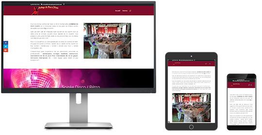 Site web AUBERGE DU PONT D'ANTIS
