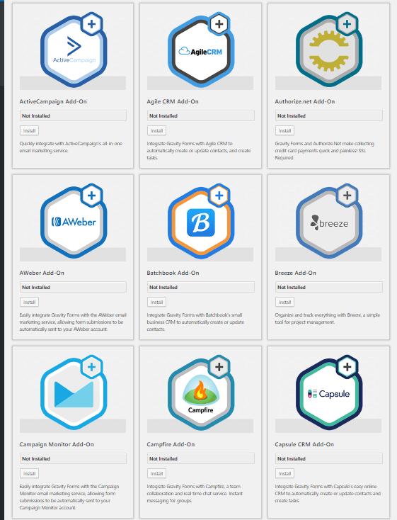 Gravity Form un plugin WordPress qui fait bien plus que des formulaires de contact !