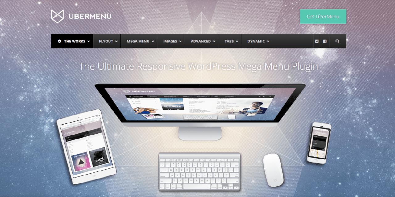 On a testé : UberMenu Méga menu pour WordPress