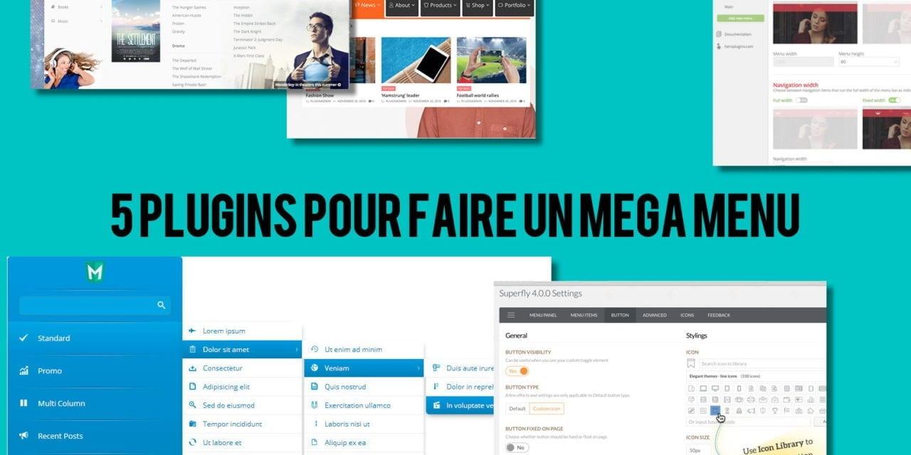 Cinq Plugins Wordpress Woocommerce Pour Faire Un Menu Riche