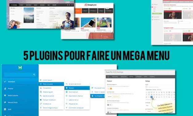 Cinq plugins WordPress WooCommerce pour faire un menu riche