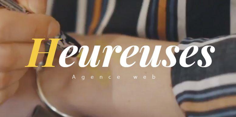 Heureuses – Agence Web