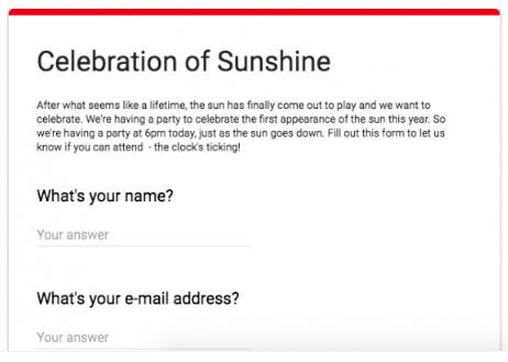 Comment intégrer un formulaire Google dans WordPress