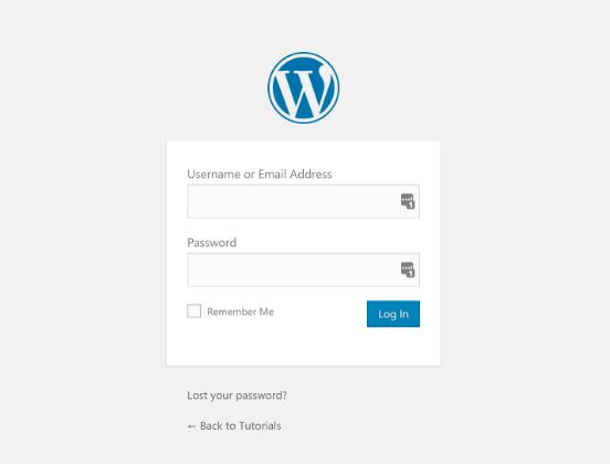WordPress Connexion