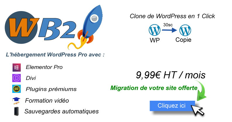 Hébergement Pro WordPress