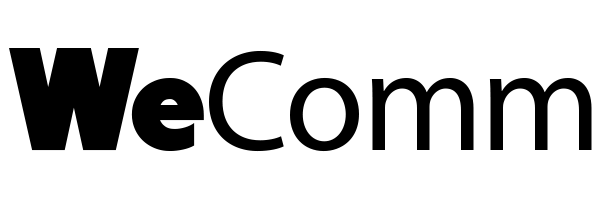 logo de l'agence digitale WeComm