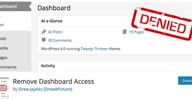 Comment limiter l'accès à votre tableau de bord WordPress