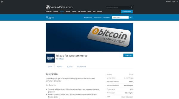 Le plugin BitPay vous aide à assurer les paiements Bitcoin sur votre site WordPress.