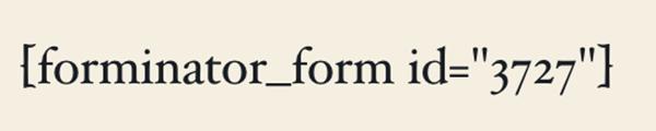 Exemple du shortcode produit.