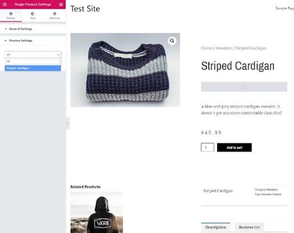 Prévisualisez votre design avant de le mettre en ligne.