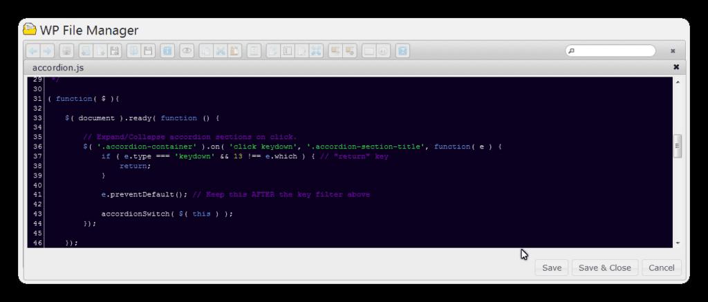 editeur de code fm