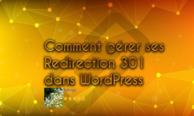 Comment gérer ses Redirection 301 dans WordPress