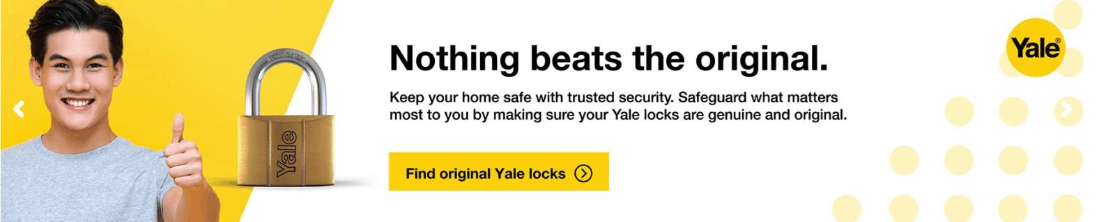 Serrures Yale