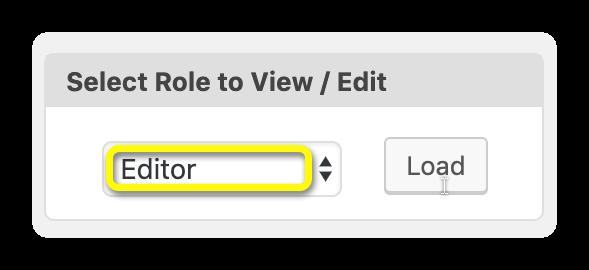 select role publishpress