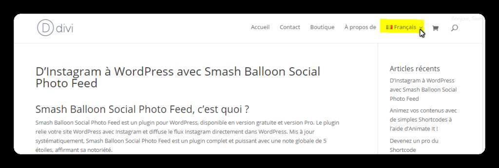 site version fr