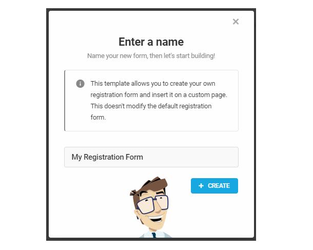 Nommez votre formulaire d'inscription personnalisé dans Forminator