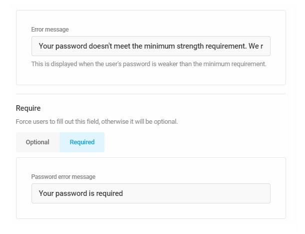 Personnalisez les messages d'erreur dans le formulaire d'inscription Forminator