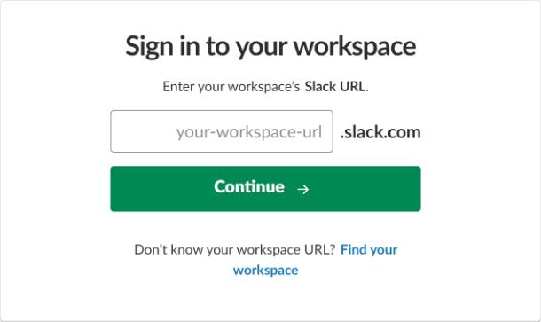 Connectez-vous à Slack pour l'intégration dans Forminator