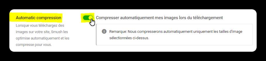 automatic compression