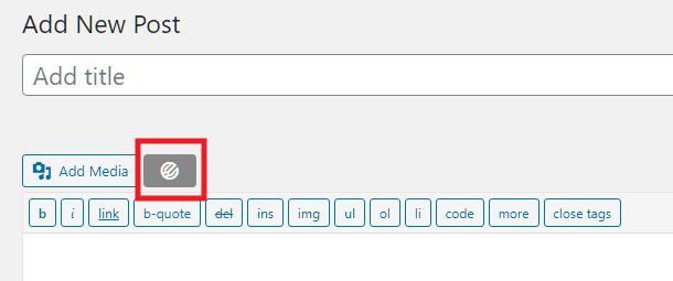 Ajouter un formulaire Forminator à une publication dans l'éditeur classique