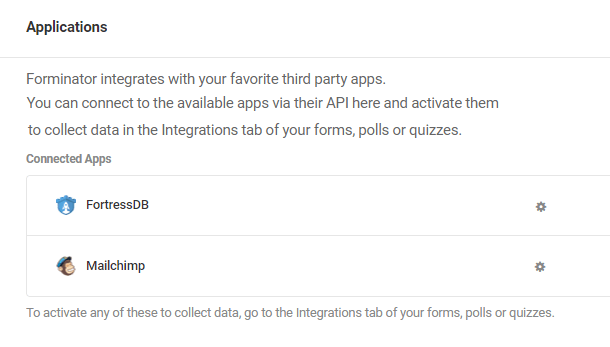 fortressdb dans les applications connectées