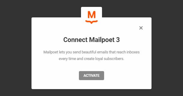 Intégration de Mailpoet avec Hustle