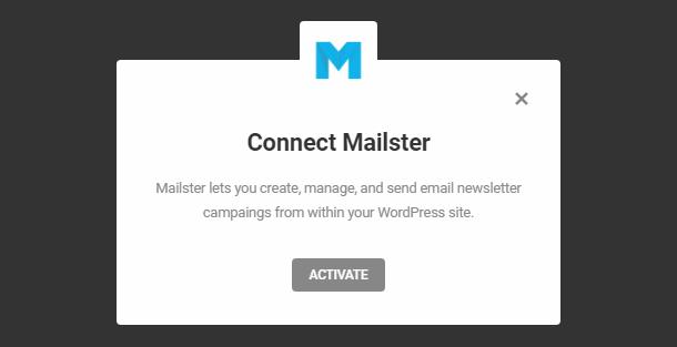 Intégration de Mailster avec Hustle