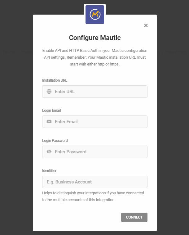 Intégration Mautic avec Hustle