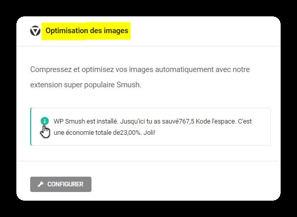 optimisation des images
