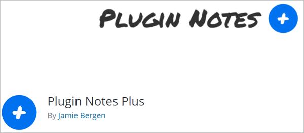 Plugin Notes Plus