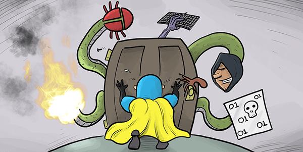 DevMan vs menaces de sécurité multidimensionnelles.