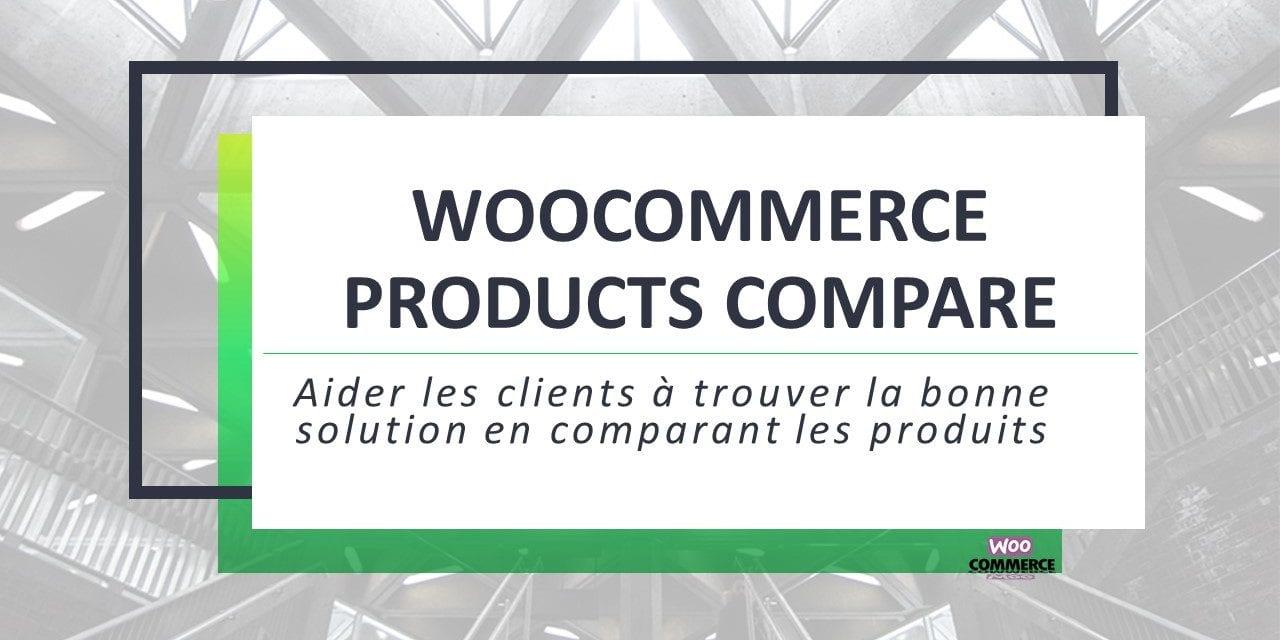 WooCommerce Products Compare- Comparer les produits WooCommerce