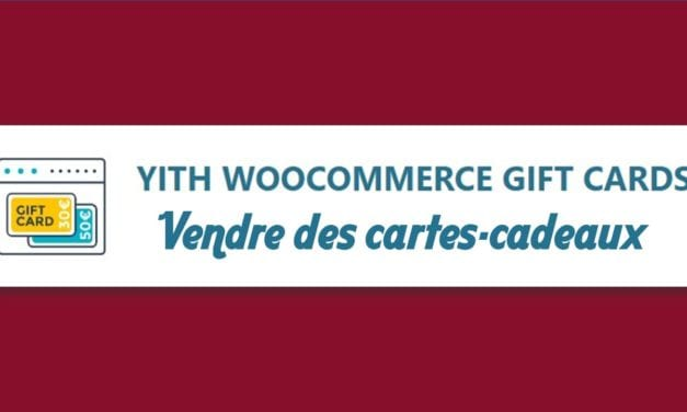 YITH WooCommerce Gift Cards – Vendre des cartes-cadeaux