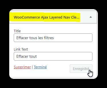 woocommerce ajax layered nav clear