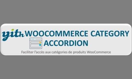 YITH WooCommerce Category Accordion-Faciliter l'accès aux catégories de produits WooCommerce